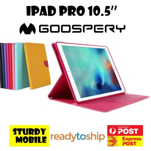 Goospery Fancy Diary Case for Apple iPad Pro 10.5'' Folio Cover Soft Flip Stand