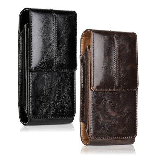 Vertical Leather Belt Clip Case Pouch Cover Holster for iPhone 7 8 8 Plus Xs Max