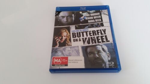 Butterfly On A Wheel - Ex-Rental Blu Ray **Free Postage** (Pierce Brosnan)