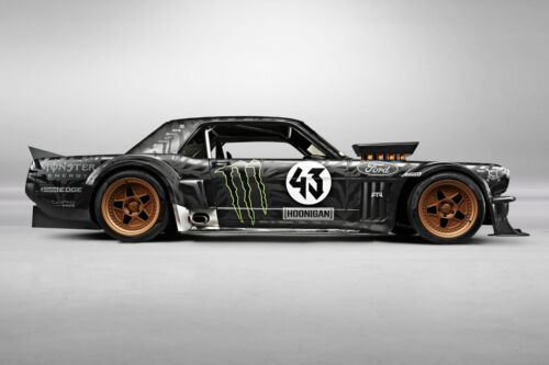 KEN BLOCK'S 1965 FORD MUSTANG RALLY CAR POSTER PRINT STYLE C 24x36 9MIL PAPER
