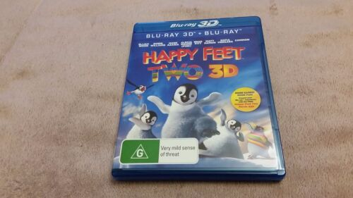 Happy Feet Two (2) 3D + 2D Blu Ray - Blu Ray **Free Postage**