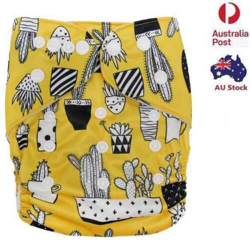 Unisex Modern Cloth Nappies Baby Nappy Pilcher Pilchers Diaper Free Liner (D201)