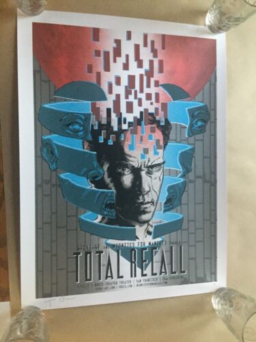 Total Recall Print by Tim Doyle Signed & Numbered Limited Edition # 51 of 100