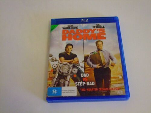 Daddy's Home - Ex-Rental Blu Ray **Free Postage** (Mark Wahlberg Will Ferrell)