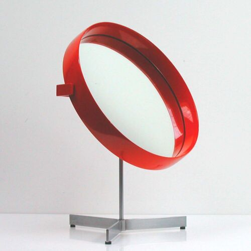 Mid-Century Uno and Osten Kristiansson Table Mirror for Luxus Vittsjö, 1960s