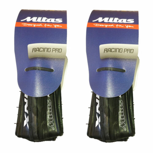 Pair of Mitas Syrinx 700 x 23 Road Tyres 127 TPI GP Puncture Protected Foldable