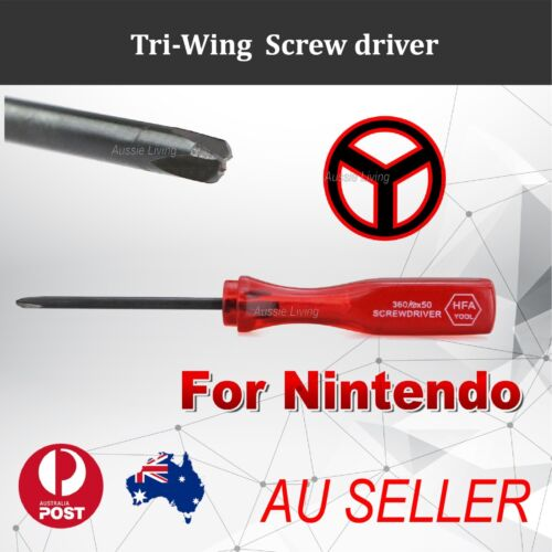 TRI-WING TriWing Screwdriver for Nintendo Wii GBA NDS Lite NDSL NDS Y SHAPE