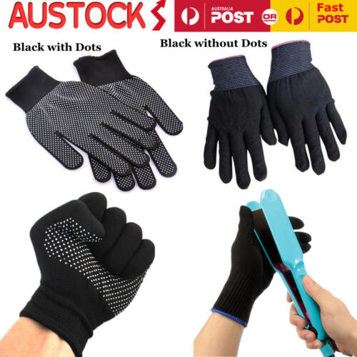 Pair Heat Proof Resistant Protective Gloves Hair Styling Hairdressing Tool