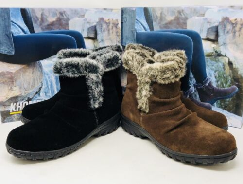 Khombu Ladies Winter Boots All Weather Lisa Variety Colors And Sizes