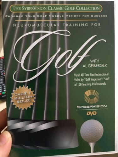 Neuromuscular Training For Golf With Al Geiberger region 1 DVD (2 discs)