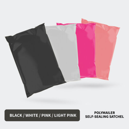 Poly Mailer Bags Mailing Satchel Plastic Courier Self Sealing Packing Shipping