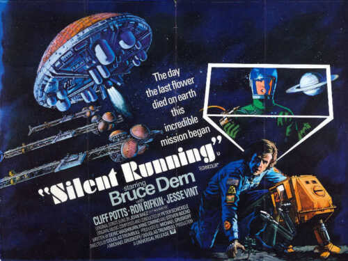 1972 SILENT RUNNING VINTAGE SCI-FI MOVIE POSTER PRINT STYLE B 18x24 9MIL PAPER