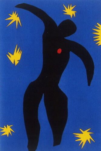 Icarus    by Henri Matisse  Giclee Canvas Print Repro