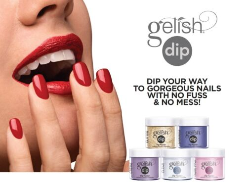 Gelish Dip Powder 23g / 0.8 oz Full Collection (Pick Your Colors)