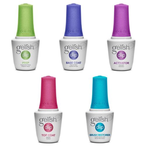 Gelish Dip Essentials (Prep,Base,Top, Activator, Restore) 0.5oz (Pick Any One)