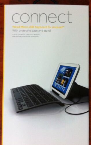 ZAGG Wired Micro-USB Keyboard for Android with Cover
