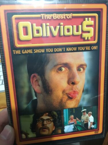 The Best Of Oblivious region 1 DVD (comedy game show)