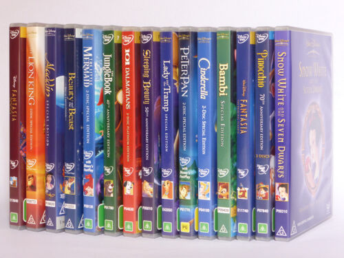 The WALT DISNEY Platinum Collection (R4 27-Disc DVD Collection) | RARE/OOP