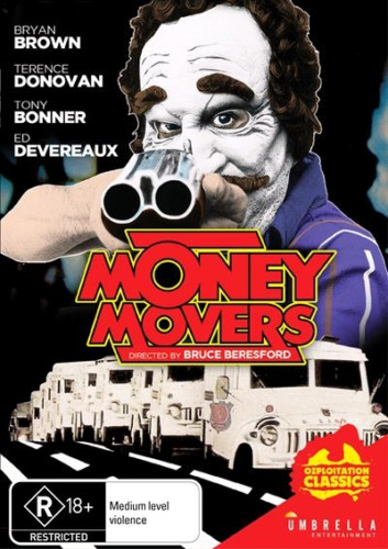 Money Movers (DVD) Bryan Brown Tony Bonner [All Regions] NEW/SEALED