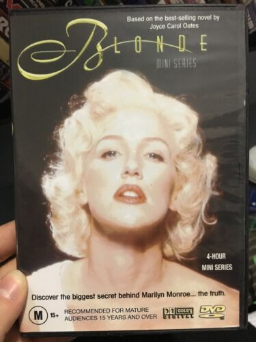 Blonde region 4 DVD (2001 Poppy Montgomery mini series about Marilyn Monroe)