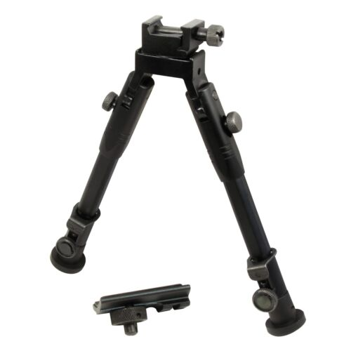 """9"""" CCOP Badger Tactical Hunting Rifle Picatinny Swivel Stud Mount Bipod 59SBipods & Monopods - 73959"""