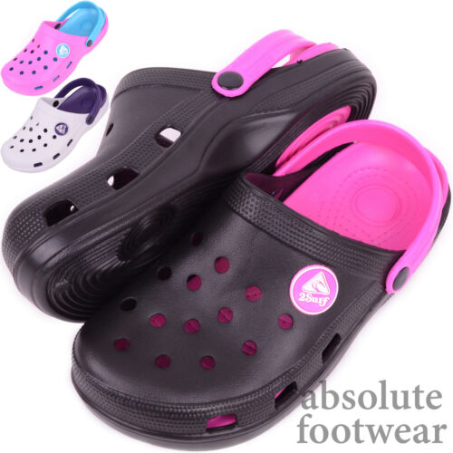 Ladies / Womens Summer / Holiday / Beach / Pool / Garden Clogs / Sandals / Shoes