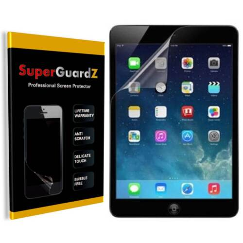 3X iPad 9.7 (2018) 6th Gen SuperGuardZ Clear Screen Protector Guard Shield Cover