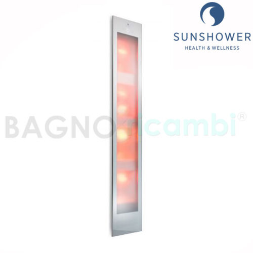 Lamp Tanning and Infrared Natural Solarium Sunshower Deluxe 80015