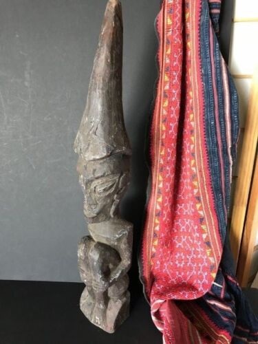 Old Borneo Dayak Tribal Wooden Carving …beautiful aged patina