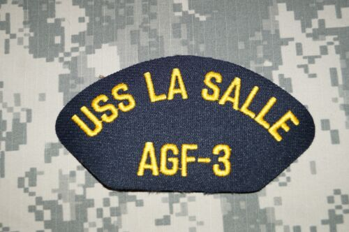 10 Lot Vintage 1990/'s US Navy USS La Salle AGF-3 Iron On Jacket Hat Patches 227