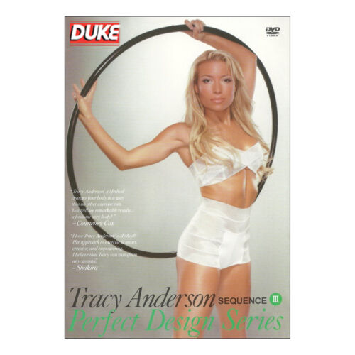 Tracy Anderson Perfect Design Series Sequence III DVD NTSC New Special Interest
