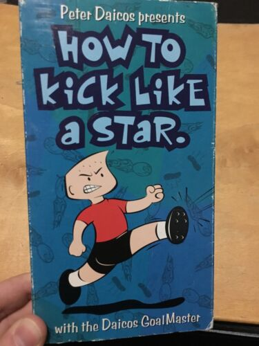 AFL Football - Peter Daicos Goalmaster : How To Kick Like A Star VHS Tape