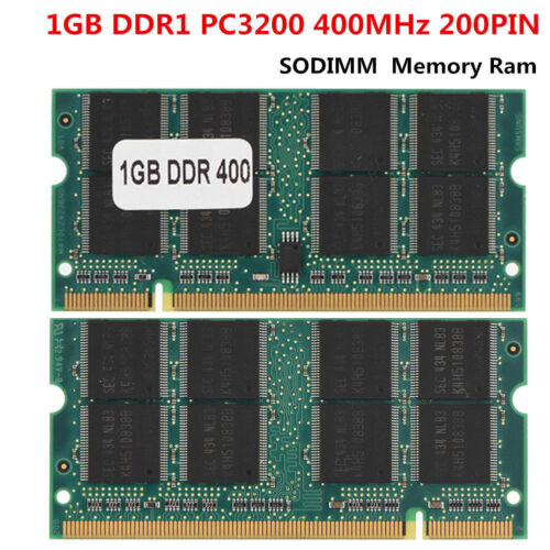2GB DDR1 Notebook Desktop Memory RAM 400Mhz PC3200 200Pin SO-DIMM for All CPU