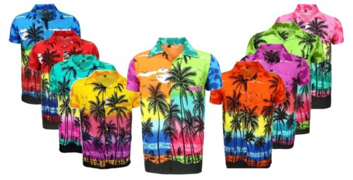MENS HAWAIIAN SHIRT STAG BEACH HAWAII ALOHA PARTY SUMMER HOLIDAY FANCY S -XXL D1 <br/> BRAND NEW ITEM GOOD VALUE FOR MONEY