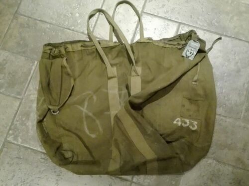 USSR Soviet Russian Paratroopers Carrying portable Bag to the main parachuteOriginal Period Items - 13983