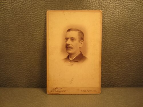 Victorian Antique Cabinet Card Photo of Man