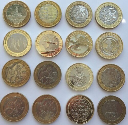 CHEAPEST £2 COINS TWO POUND RARE COMMONWEALTH OLYMPIC MARY ROSE KING JAMES BIBLE