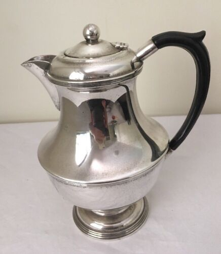 Vintage Silver Plated Coffee Pot Carrington With Bakelite Handle  C1915