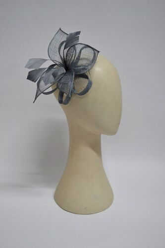Sinamay Floral Fascinator Ideal For Weddings Brides Maids Races Head Piece