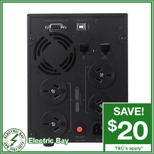 CyberPower Value SOHO Line Interactive UPS 2200VA 4 Outlet Power Supply Surge