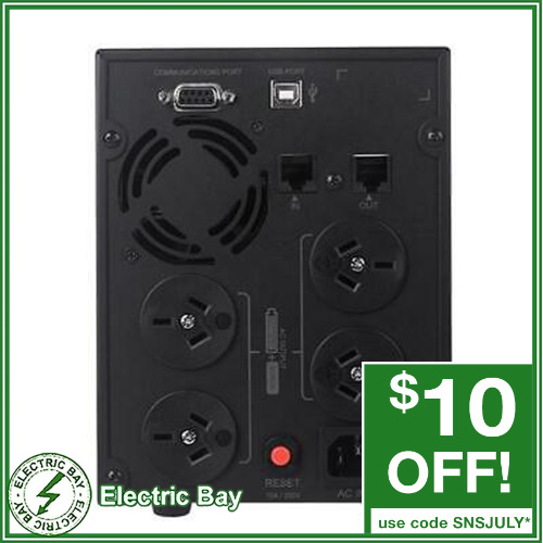 CyberPower 1200VA UPS VALUE2200ELCD SOHO Uninterruptible Power Supply 4 Outlets