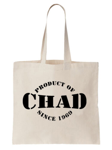Product Of Chad Since Birthday Tote Bag Gift Chadian Africa Year Shopper