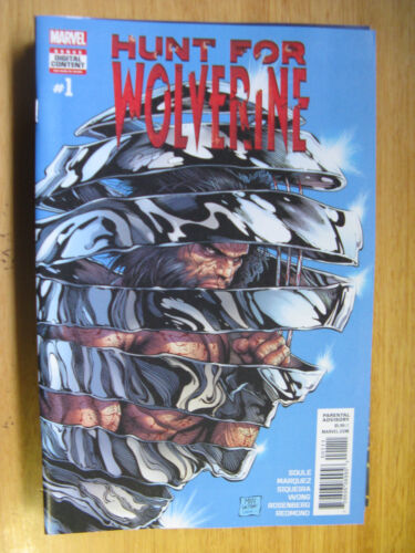 HUNT FOR WOLVERINE #1 - 2018. (new unread)
