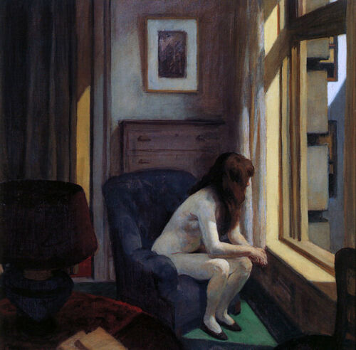 Eleven AM by Edward Hopper   Paper Print Repro