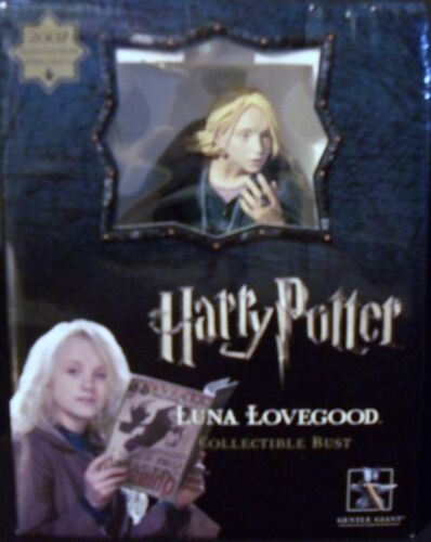 Harry Potter Collectible Bust - LUNA LOVEGOOD -  Hard to Find Item - GET IT NOW