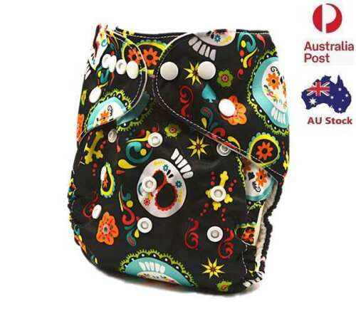 Modern Cloth Nappies Unisex Nappy Pilcher Pilchers Cloth Diaper With Liner (D49)