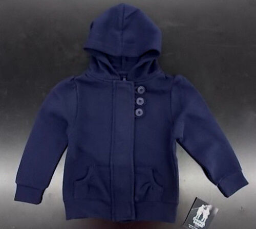 Toddler Girls French Toast Navy Hooded Jacket Size 2T - 4T