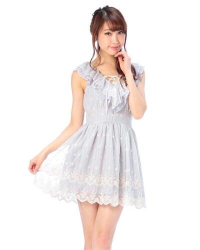 Genuine Liz Lisa Tulle Embroidery One Piece dress Brand New with Tag