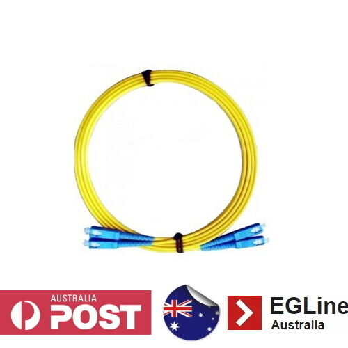 3m / 5m / 10m / 20m / 30m / 50m  SC-SC Singlemode Fibre Optic Patch Lead(Duplex)