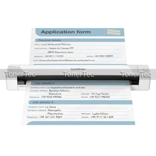 Brother DS-620 Mobile A4 Portable Colour Document Scanner+7.5PPM/USB Bus Power